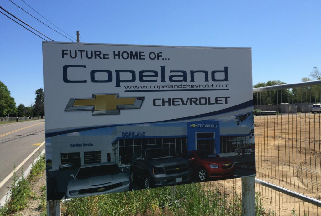 Copeland Chevrolet Condyne Capital Partners Llc
