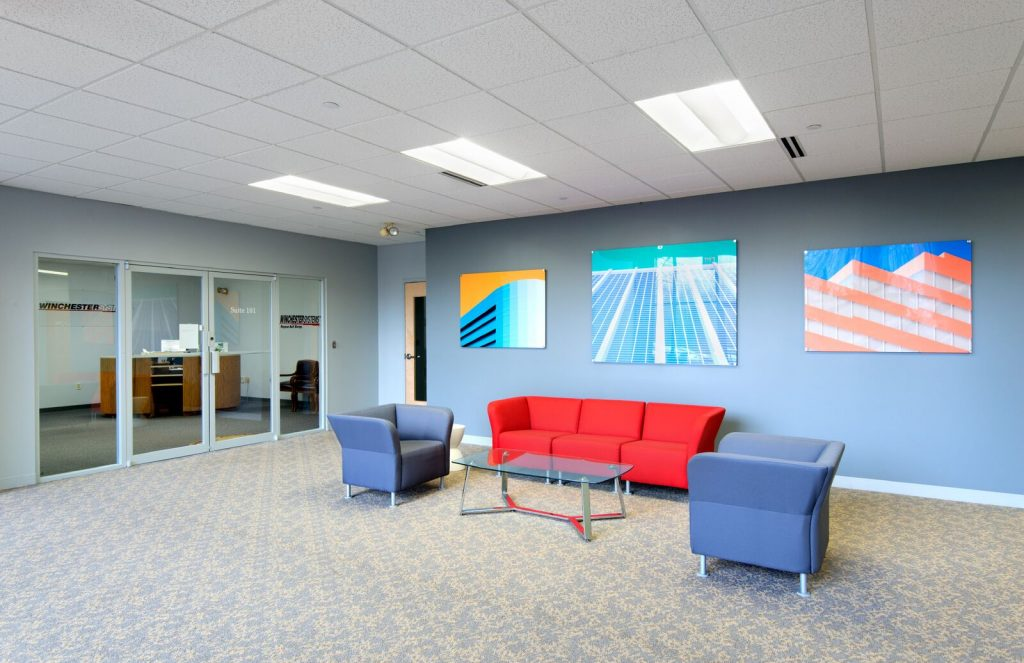 Reception Area at Brookwood Business Center
