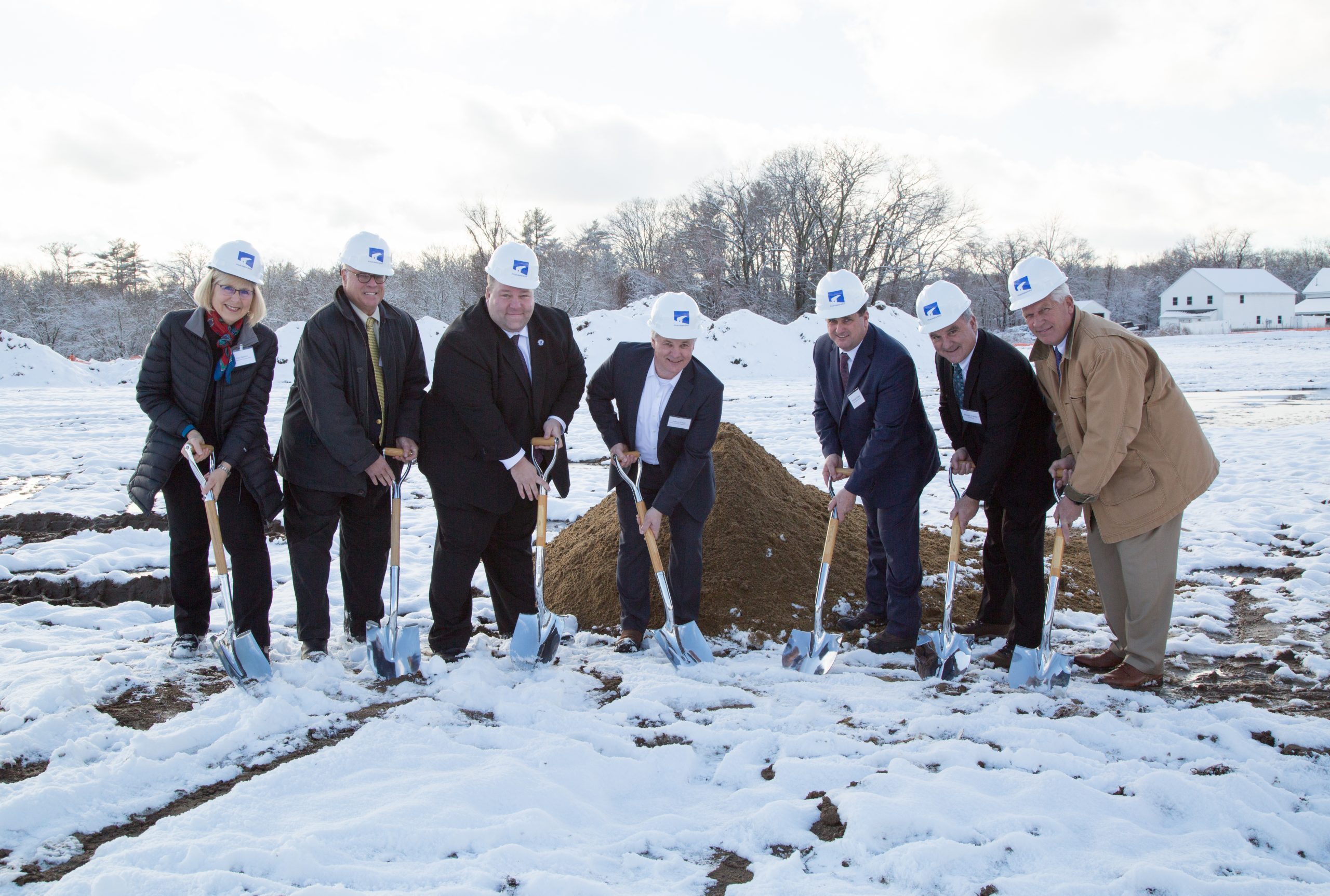 Condyne Partners and Elected Officials Breaking Ground